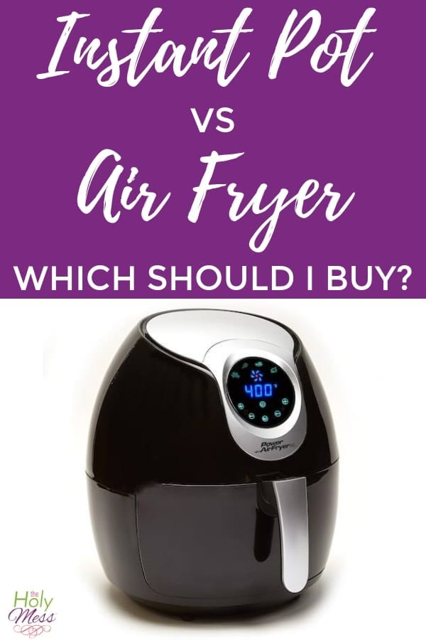 Instant Pot vs Air Fryer - Which should you buy? #instantpot #airfryer