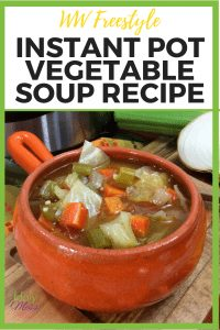 WW Freestyle Instant Pot Soup Recipe #weightwatchers #ww #freestyle