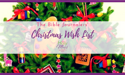 The Bible Journalers' Christmas Wish List