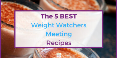 Weight Watchers top meeting recipes - chocolate smoothie
