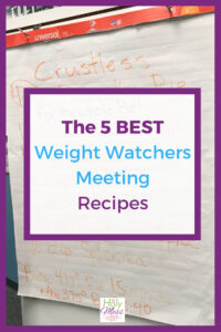 The 5 Best Weight Watchers Recipes from Meetings #weightwatchers #freestyle