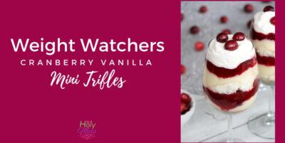 Weight Watchers Cranberry Trifles