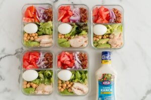 Weight Watchers Meal Prep Cobb Salad