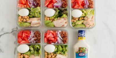 Weight Watchers Meal Prep Cobb Salad