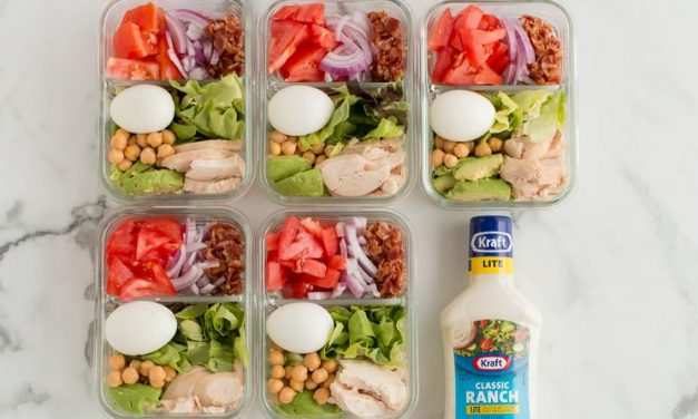 Weight Watchers Meal Prep Recipe: Chicken Cobb Salad