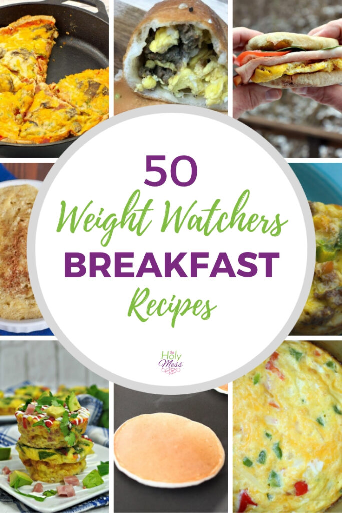 50+ Weight Watchers Breakfast Recipes and Ideas #weightwatchers #freestyle #MyWWBlue #MyWWGreen #MyWWPurple
