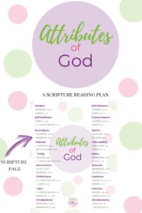 Attributes of God Bible Study