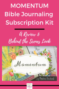 Momentum Bible Journaling Kit Review