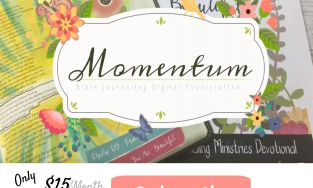 Momentum Bible Journaling Kit Subscription Program Review
