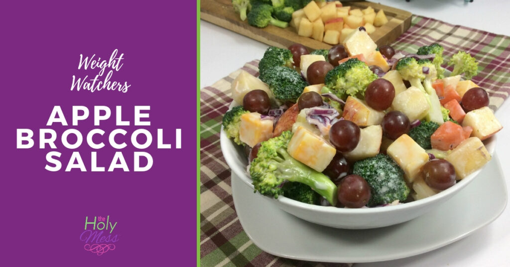 Weight Watchers Apple Broccoli Salad,Weight Watchers broccoli salad