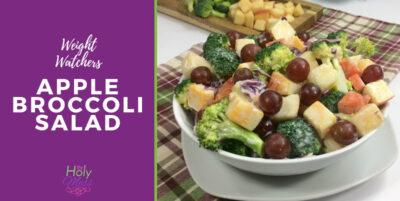 Weight Watchers Apple Broccoli Salad