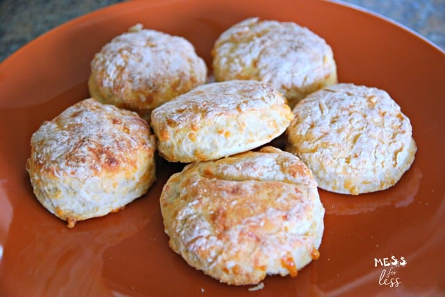 Cheesy Biscuits for WW