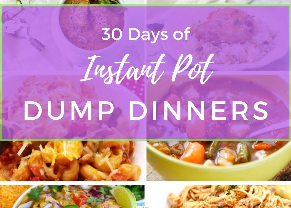 30 Days of Instant Pot Dump Dinners