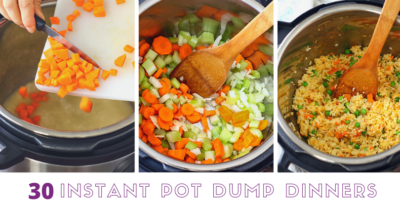 Instant Pot Dump Dinners