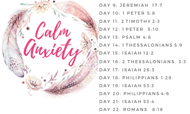 30 Bible Verses to Calm Anxiety