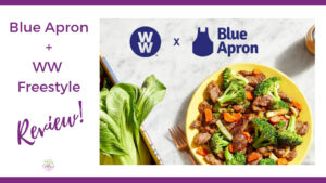 WW + Blue Apron - is it worth the money?