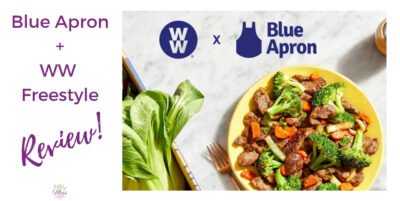 Blue Apron + WW Freestyle - a complete review