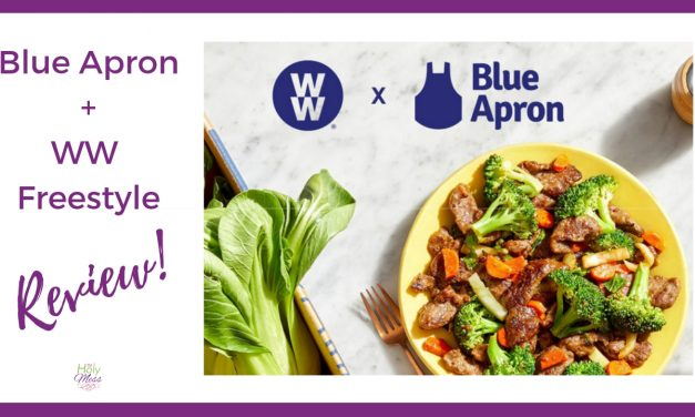 Blue Apron + WW Freestyle Review