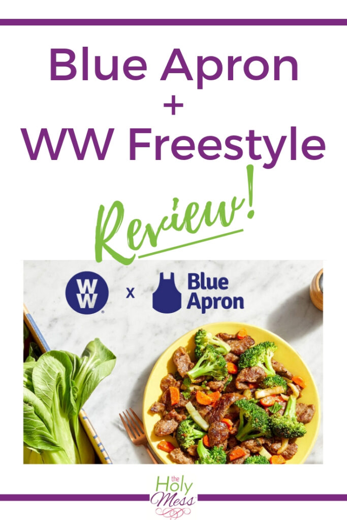 WW + Blue Apron Review
