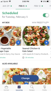 How the Blue Apron app works