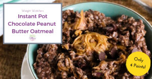 Weight Watchers Instant Pot oatmeal recipe