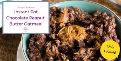 Weight Watchers IP Oatmeal recipe