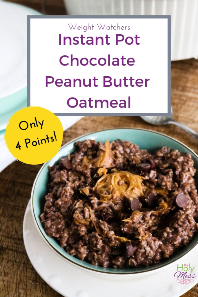 WW Freestyle Chocolate Instant Pot Oatmeal