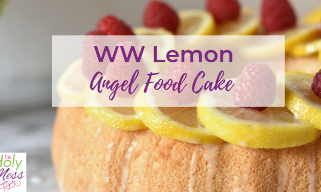 Weight Watchers Lemon Angel Food Cake