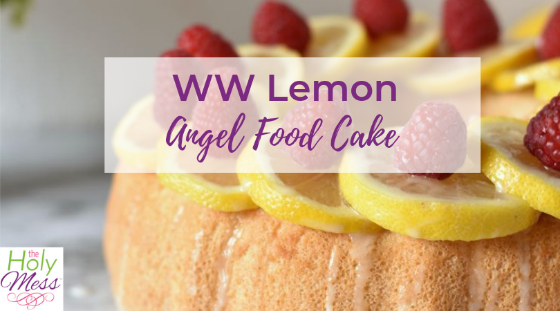 WW Lemon Angel Food Cake Recipe