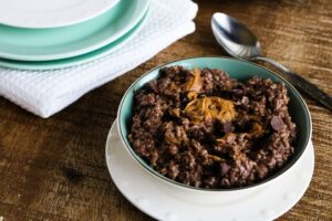 Instant Pot Chocolate PB Oatmeal
