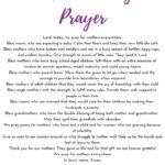A Daughter's Prayer for Moms on Mother's Day