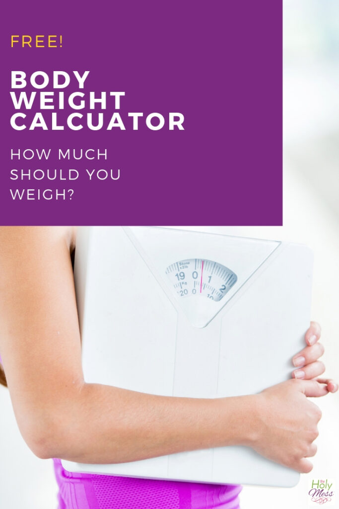 Free Body weight calculator - how much should you weigh?