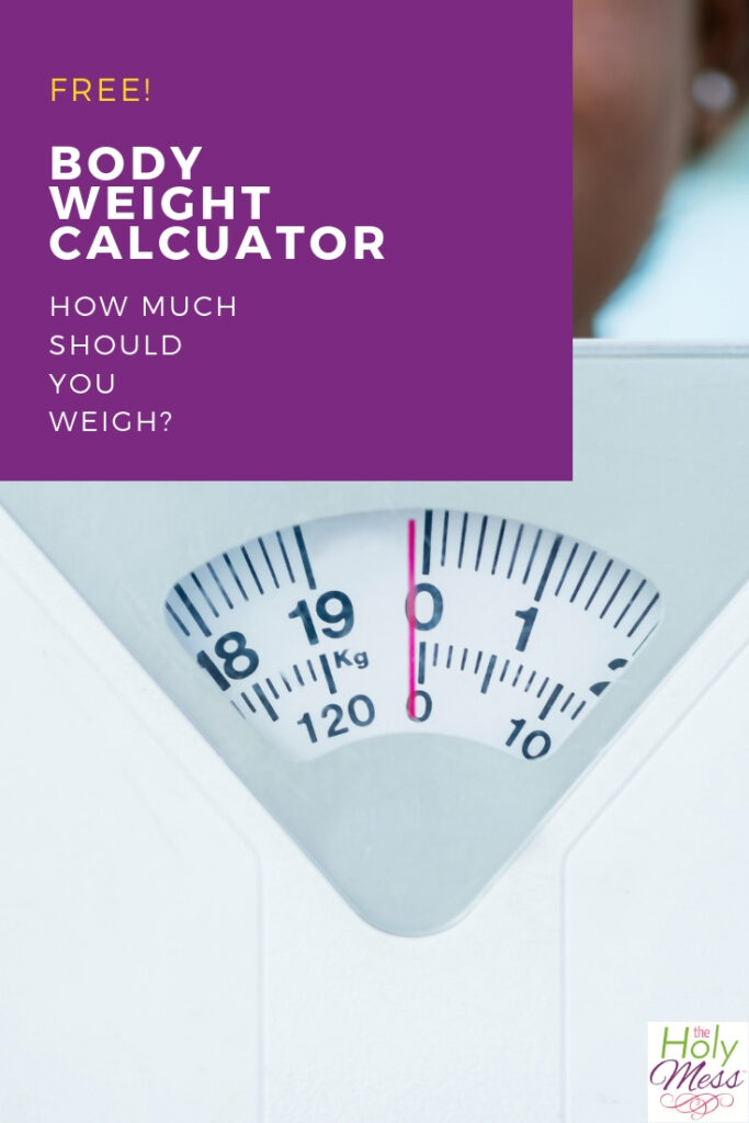 Body weight calculator - what's a healthy weight for you?