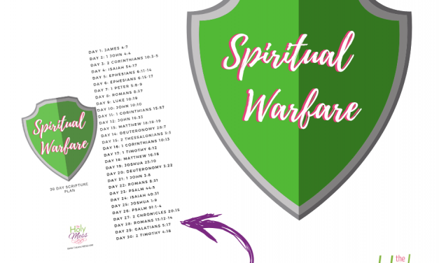 30 Day Spiritual Warfare Bible Reading Plan