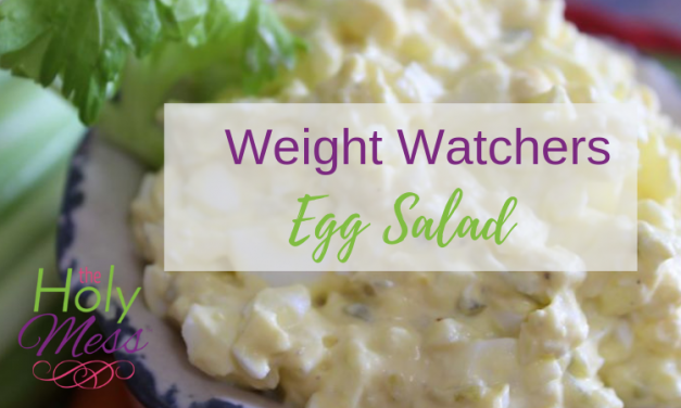 Weight Watchers Zero Point Egg Salad Recipe