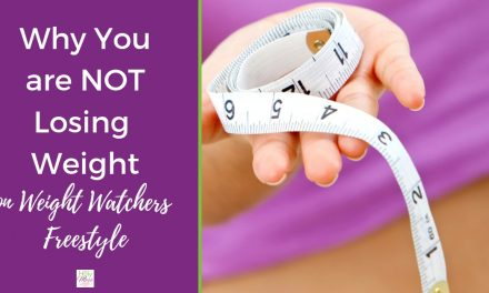 Why Am I Not Losing Weight on Weight Watchers Freestyle?