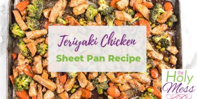 teriyaki chicken sheet pan recipe