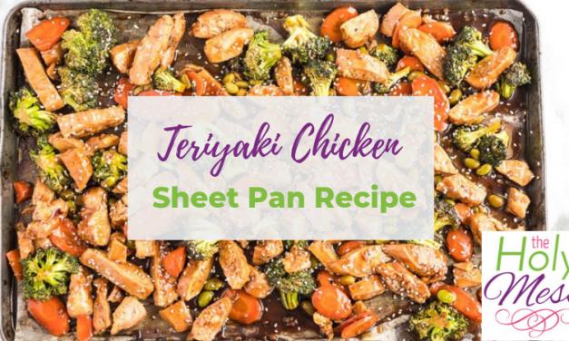 Weight Watchers Teriyaki Chicken Sheet Pan Recipe – Meal Prep