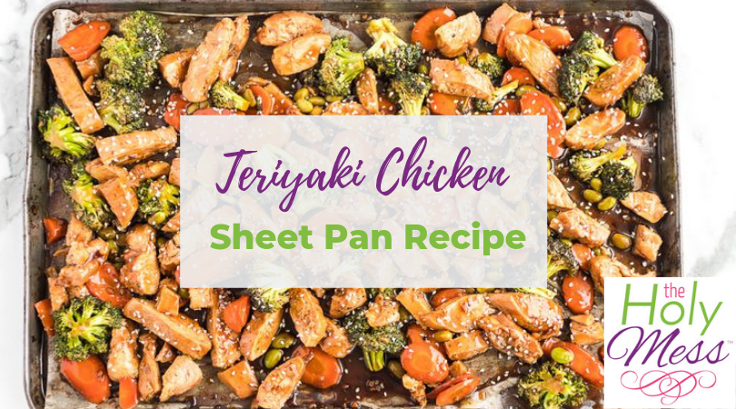 Weight Watchers Teriyaki Chicken Sheet Pan Recipe – Meal Prep