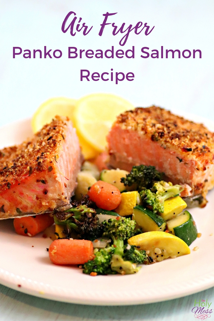 Weight Watchers Air Fryer Breaded Salmon Recipe