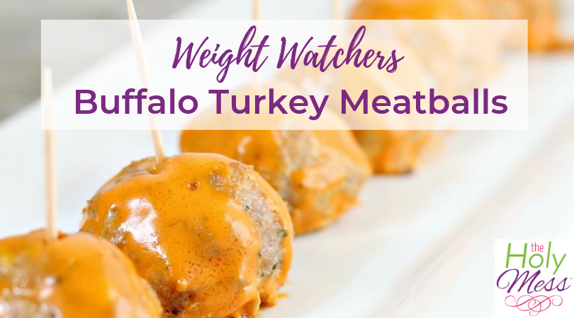 Weight Watchers Buffalo Turkey Meatballs