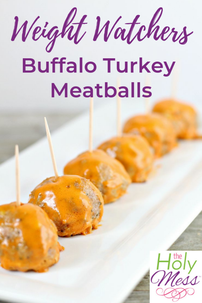 Weight Watchers Buffalo Turkey Meatballs