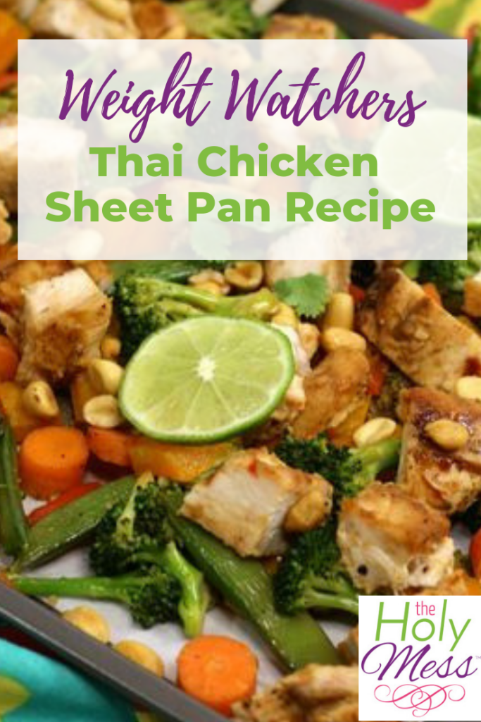 Weight Watcher Thai Chicken Sheet Pan Recipe