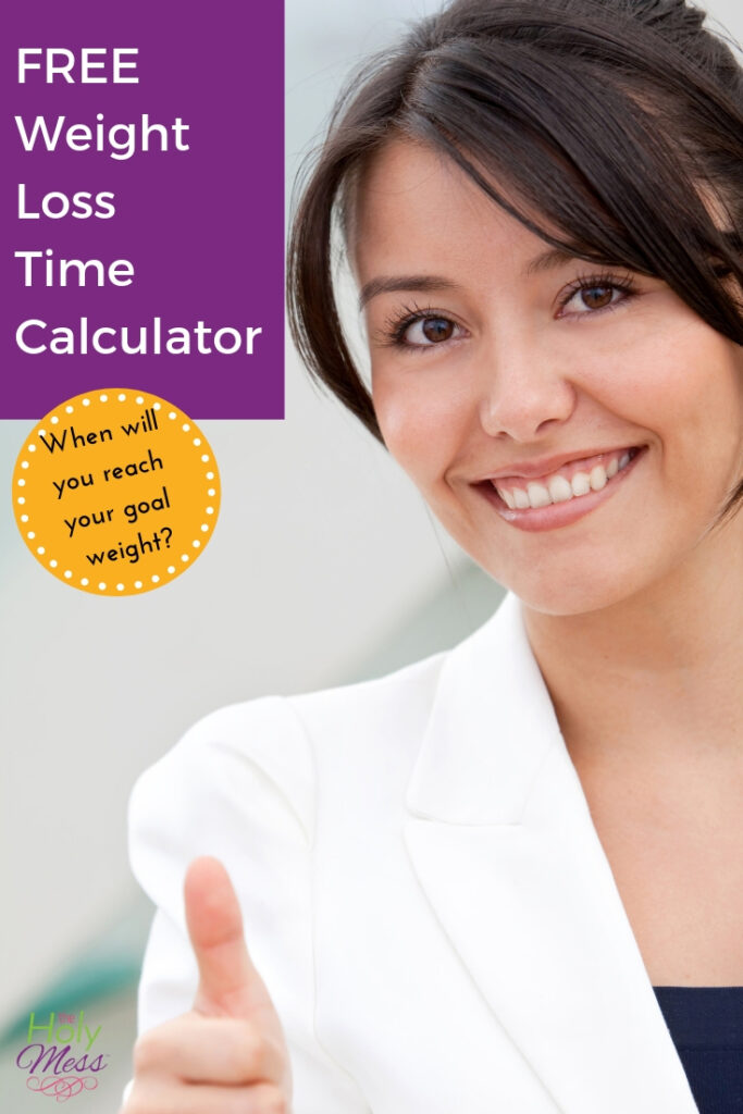 Free weight loss calculator - how long will it take to get to your goal weight?