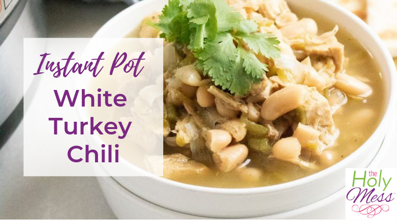 Instant Pot White Turkey Chili Recipe