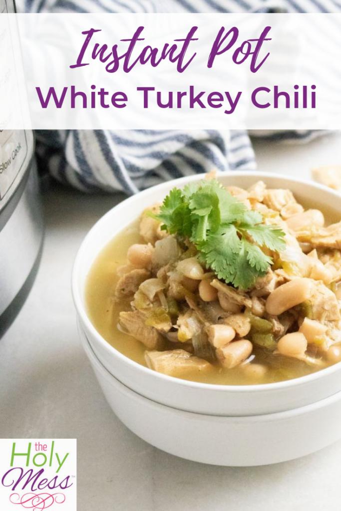 Instant Pot White Turkey Chili