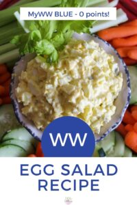 Weight Watchers Egg Salad Recipe with Yogurt - Blue