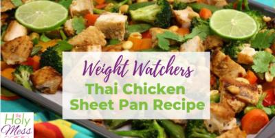 Weight watchers thai chicken sheet pan recipe