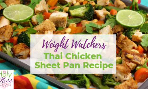 Weight Watchers Thai Chicken Sheet Pan Recipe