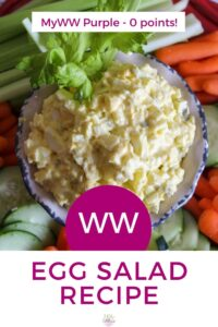 Weight Watchers Egg Salad Recipe with Yogurt - Purple Zero Points